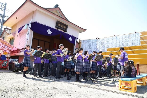 諏訪神社夏季例大祭で演奏しました!
