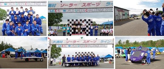 ワールド・グリーン・チャレンジ・ソーラーカーラリー2018