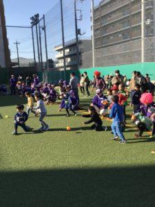 【硬式野球部】ティーボール教室開催