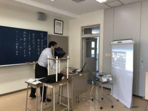 オンライン授業・録画授業の風景