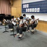 音楽 発表授業
